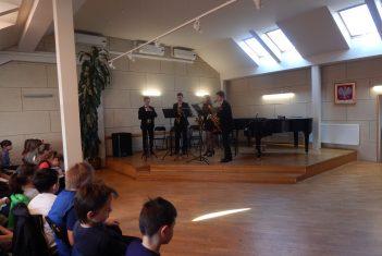 Audycja muzyczna sekcji  dętej