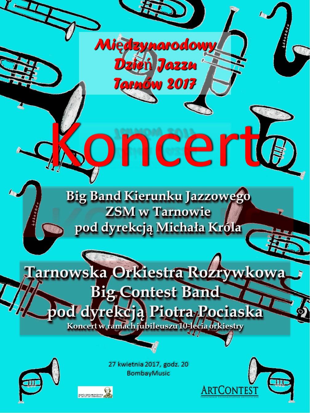 Plakat Koncert 27 Szkoła Muzyczna