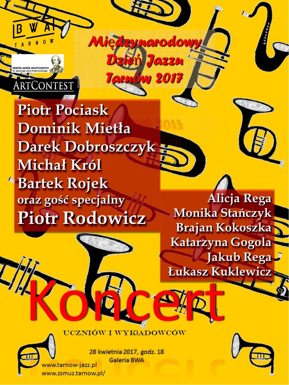 Plakat Koncert 28 Szkoła Muzyczna