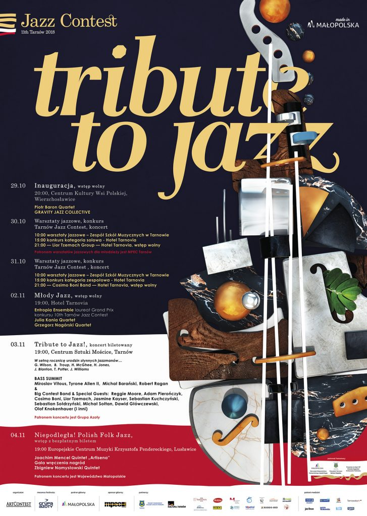 11th Tarnów Jazz Contest — Plakat A2c.cdr
