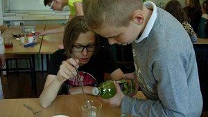 Spotkania z nauką - warsztaty chemiczne