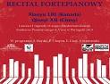 Recital fortepianowy w Kąśnej Dolnej